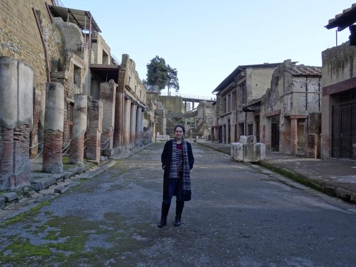 Me at Herculaneum