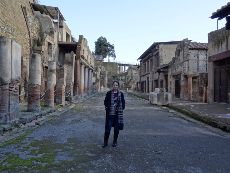 Me at Herculaneum