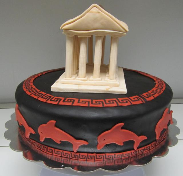 Classics, Archaeology And Linguistics Themed Cakes To