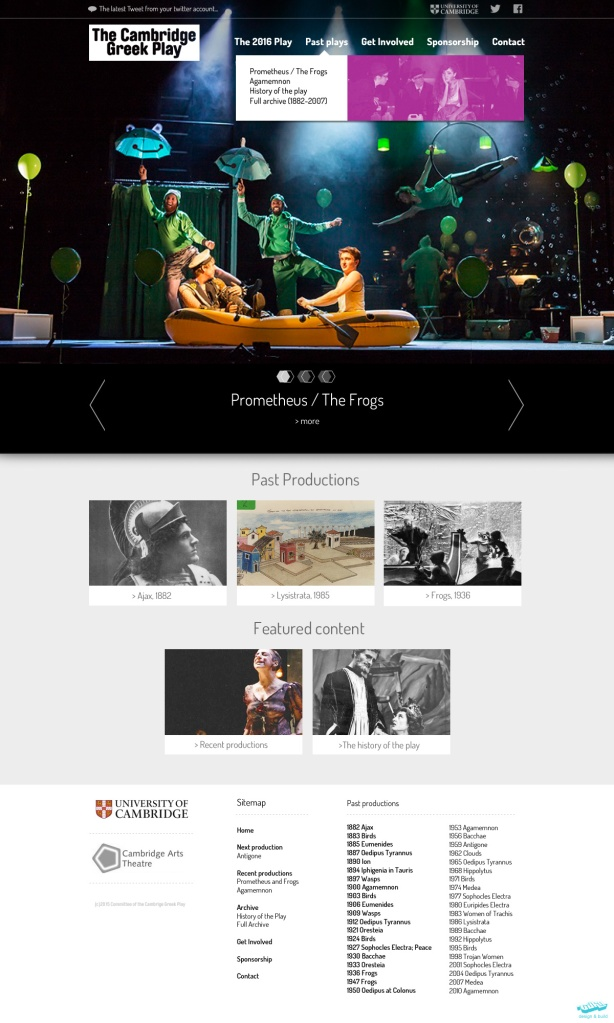 Website design concept by Vohm