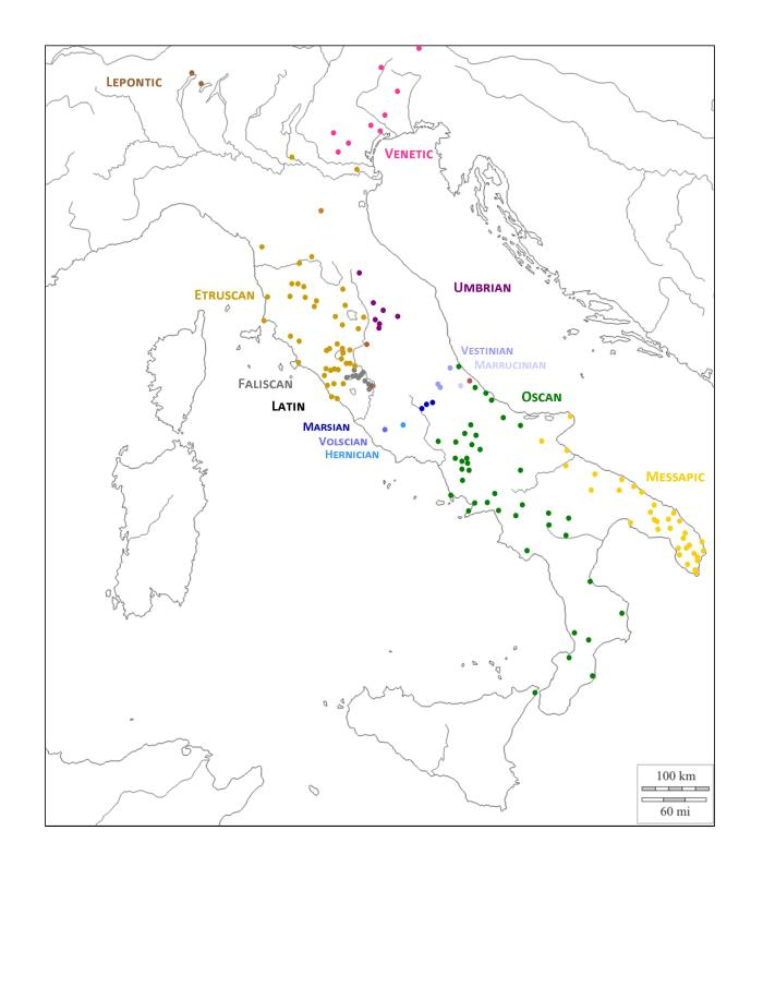 Languages of Italy C3 Jan 2016