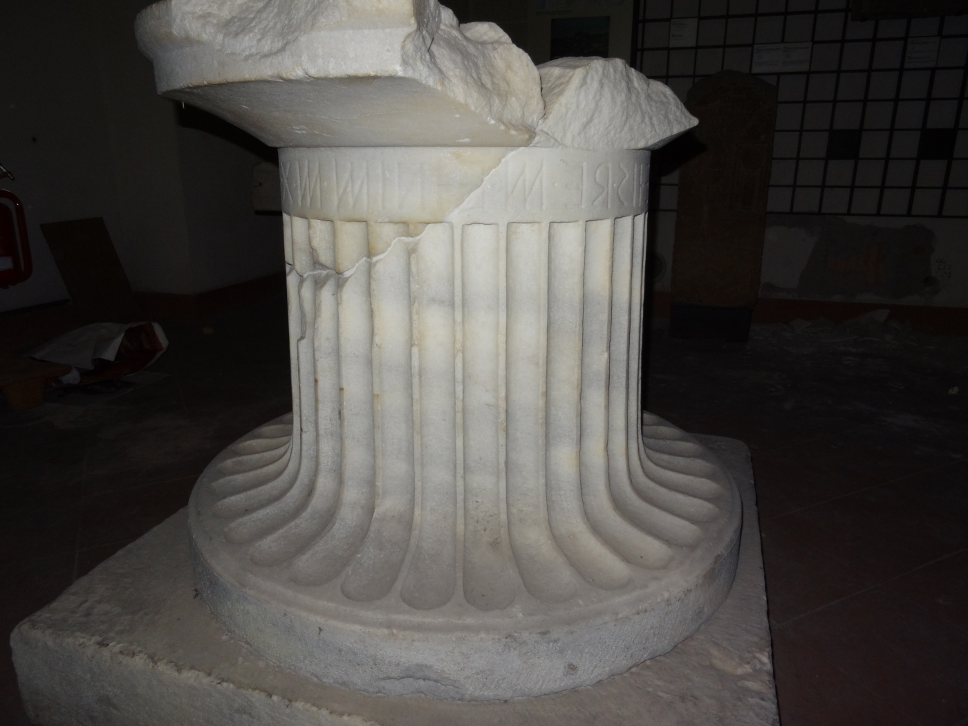 Museo Archeologico Nazionale.Reblogged The Epigraphic Gallery Of The Museo Archeologico