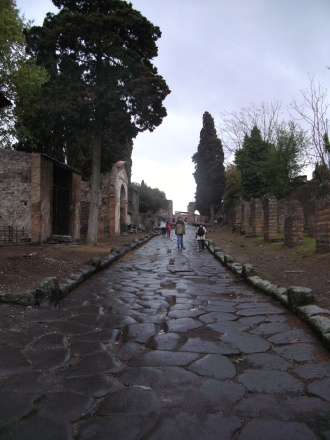 Street of Tombs, Pompeii